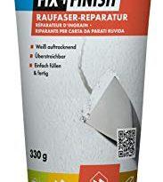 Knauf 594058 FIX + Finish Raufaser Reparatur in Weiß, 330 g Tube – gebrauchsfertige Masse, Fertig-Spachtel zum Ausbessern von Rissen und Löchern im Innen-Bereich